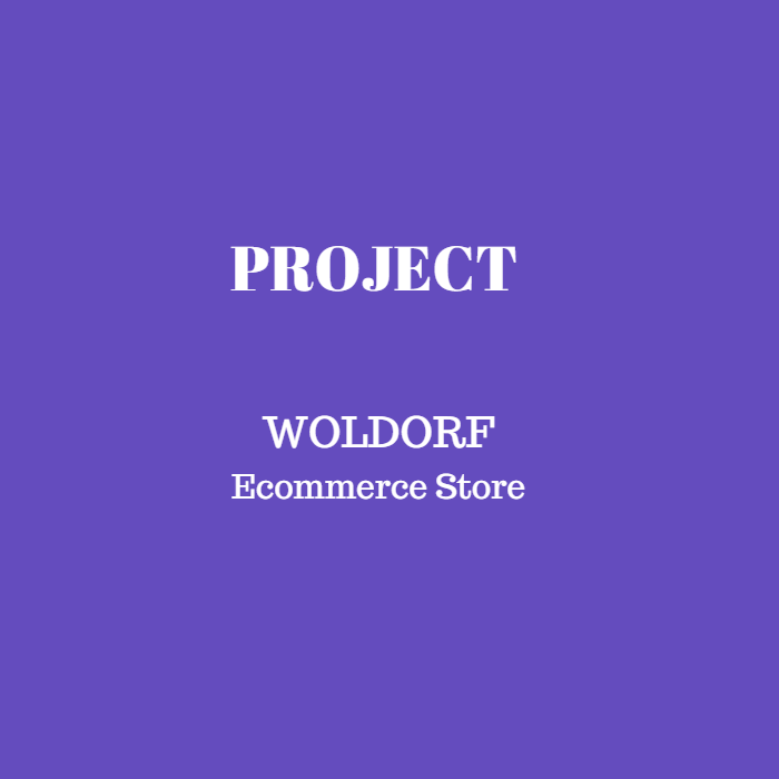 Woldorf (Ecommerce Store)